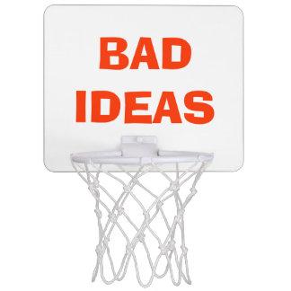 """""""Dåligaidéer"""" över soporbasketring Mini-Basketkorg"""