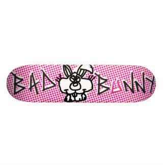Dåligakanin för många morötter skateboard bräda 20 cm