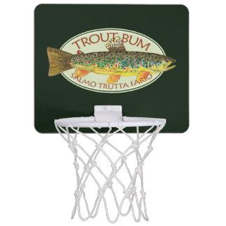 Dåligt fiske för forell Mini-Basketkorg