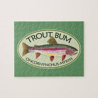 Dåligt fiske för forell pussel