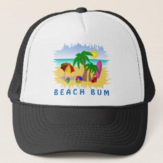 Dåligt solhav för strand och rolig färgrik hatt keps