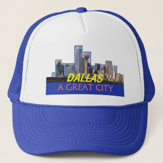 DALLAS hatt Truckerkeps