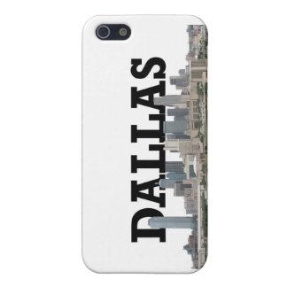 Dallas horisont med Dallas i himmlen iPhone 5 Hud