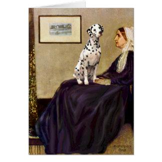 Dalmatian 1 - Whistlersmor Hälsningskort