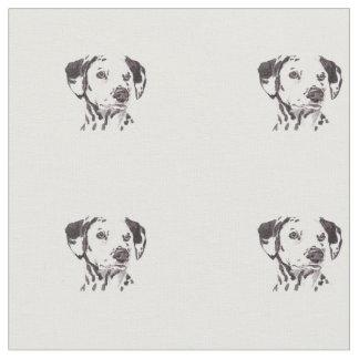 Dalmatian hundkonsttyg tyg