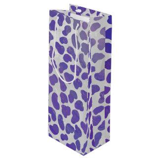 Dalmatian lila- och vittryck