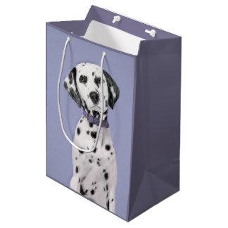 Dalmatian målning - gullig original- hundkonst