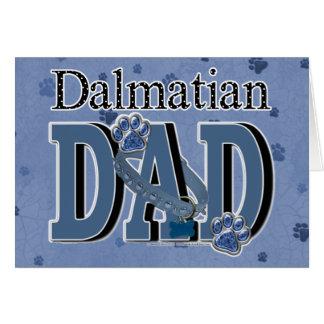 Dalmatian PAPPA Hälsningskort