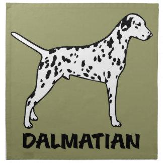 Dalmatian Tygservett