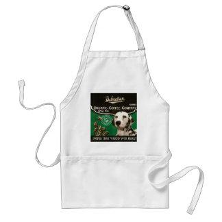 Dalmatianen brännmärker - Organisk Kaffe Företag Förkläde