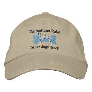 Dalmatians härskar den broderade hatten broderad keps