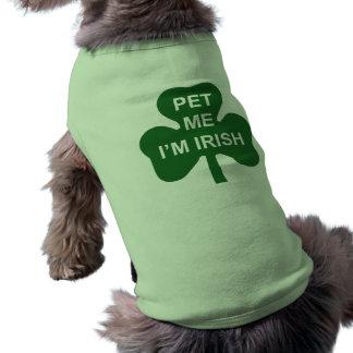 Dalta mig Sts Patrick för I-förmiddagen den Husdjurströja