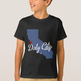 Daly City Kalifornien CA skjorta Tee Shirt