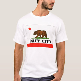 Daly City Kalifornien -- T-tröja T Shirts