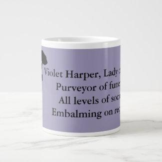 Dam av aska, jumbomugg - violett Harper Jumbo Mugg