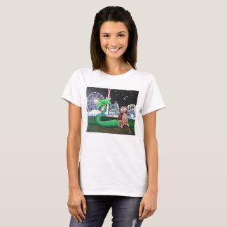 Dam för Coneyösjöjungfru snitt T Shirt