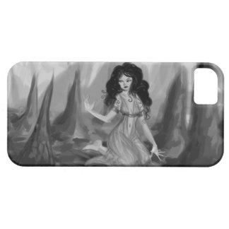 Dam i en grotta iPhone 5 hud