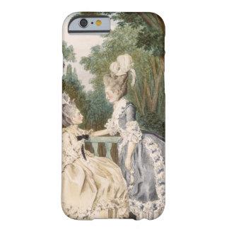 Dam morgonklänning, 1771 (färggravyr) barely there iPhone 6 fodral