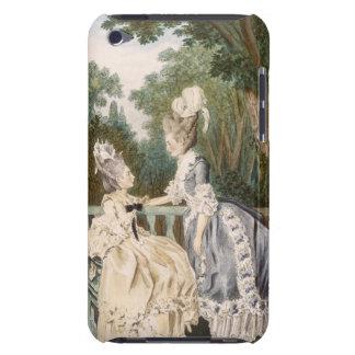 Dam morgonklänning, 1771 (färggravyr) iPod touch skal