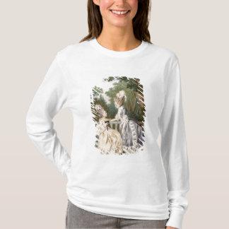 Dam morgonklänning, 1771 (färggravyr) tee shirts