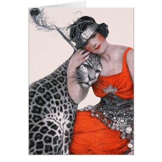 Dam och Leopard OBS Kort