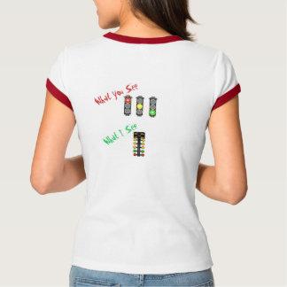 Dam Ringerskjorta - friktionstävla T Shirt