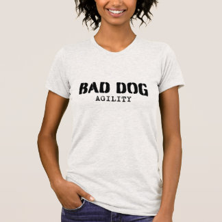 Dam - välj någon stil - svart logotyp tee shirts