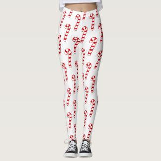 Damasker - candy cane leggings