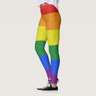 Damasker för gay prideflaggaanpassningsbar leggings