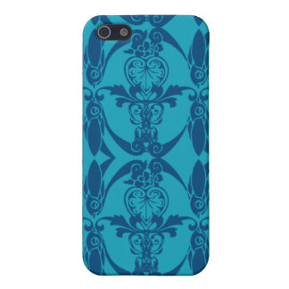 damast för blått 4G iPhone 5 Skydd