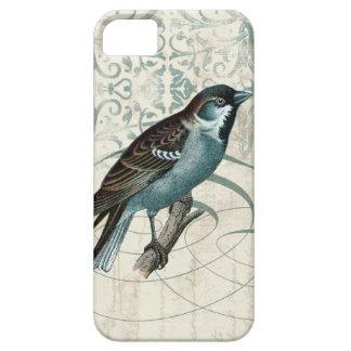 Damast för sången för songbirden för iPhone 5 fodraler
