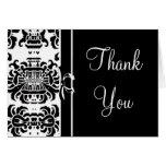 Damast tackar dig - svarten…