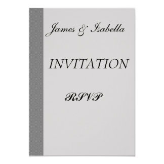 damast Wedding/RSVP, personlig inbjudan