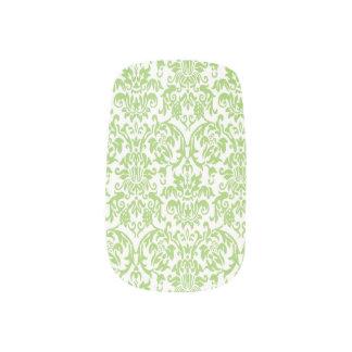 Damastast barock grönt för mönsterslynalimefrukt) nagel art