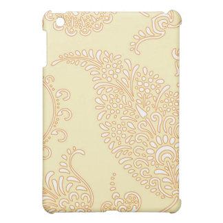 Damastast blommönster för vintagepaisley henna iPad mini mobil skydd