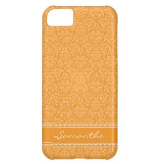 Damastast Fodral-Kompis för mönsteriPhone 5 fodral iPhone 5C Mobil Skydd