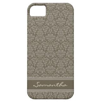 Damastast Fodral-Kompis för mönsteriPhone 5 fodral iPhone 5 Skal