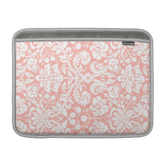 Damastast mönster för Macbook korall MacBook Air Sleeve