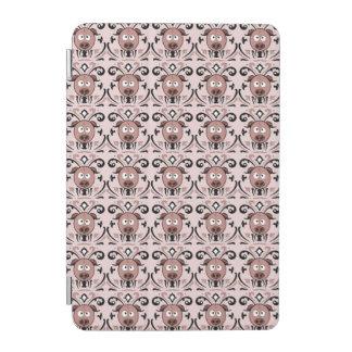 Damastast mönster för rolig gris iPad mini skydd