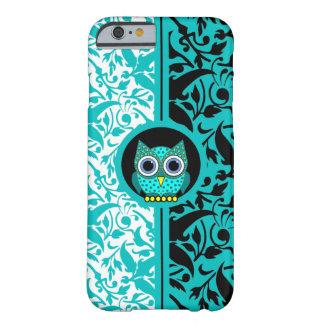 damastast mönster med fodral för ugglaiPhone 6 Barely There iPhone 6 Skal