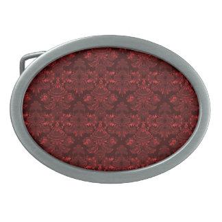 Damastast rött för klassiker (monogramen)