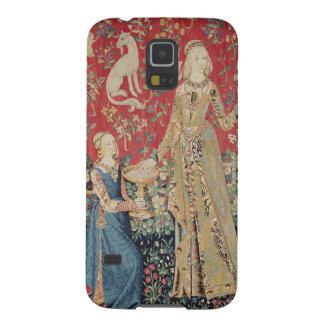 Damen och unicornen: 'Taste Galaxy S5 Fodral