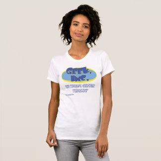 Damer Geek, Inc. komisk Jersey utslagsplats T Shirts