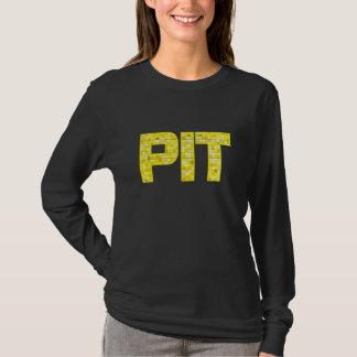 Damer Pittsburgh Bling Belägga med tegel Företag T-shirt