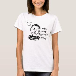 Damer som är tokiga för Tea Tee Shirts
