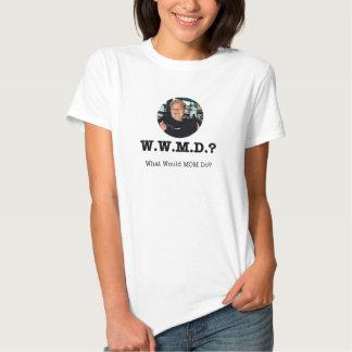"""Damer """"vad skulle mamman gör"""" T-tröjastil 3 Tee Shirts"""