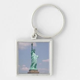 Damfrihet Keychain Fyrkantig Silverfärgad Nyckelring