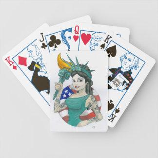 Damfrihet Spelkort
