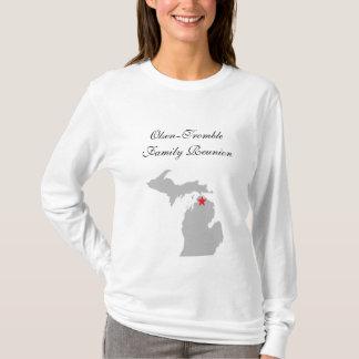 Damlångärmadvit T Shirt