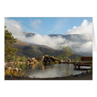 Damm för El Monte Hälsningskort